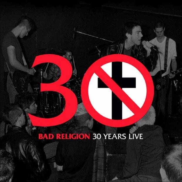 Bad Religion lançará 30 Years Live em vinil