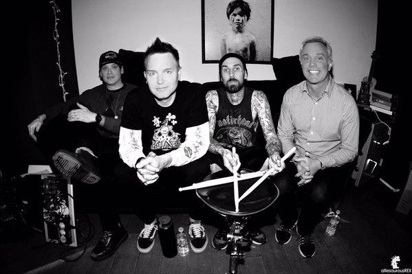 Blink-182 revela produtor do seu novo disco de estúdio