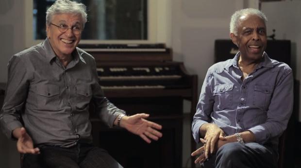 Caetano Veloso e Gilberto Gil se divertem com notícias sobre eles em sites