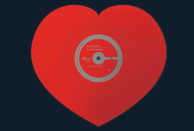 City And Colour lança vinil em formato de coração