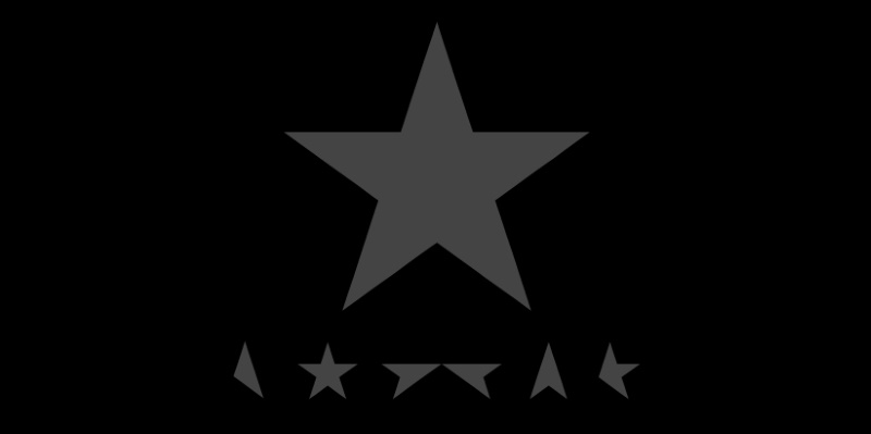 "David Bowie: designer libera artes de ""Blackstar"" para download"