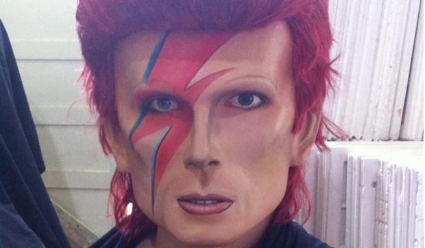 Boneco de Olinda de David Bowie