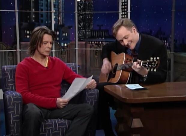 David Bowie no programa de Conan O'Brien