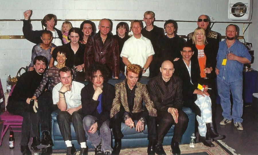 David Bowie, Foo Fighters, Pixies, Smashing Pumpkins, The Cure