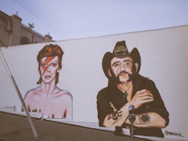 David Bowie e Lemmy