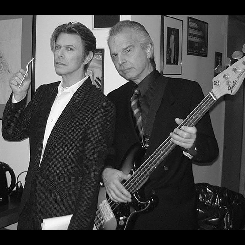 David Bowie e Tony Visconti