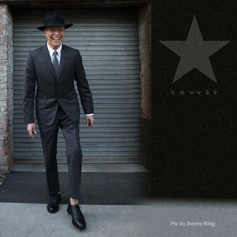 Última foto de David Bowie