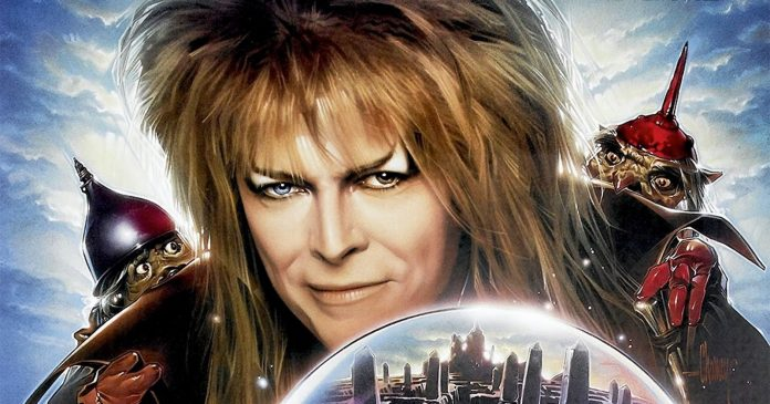 Labyrinth, com David Bowie