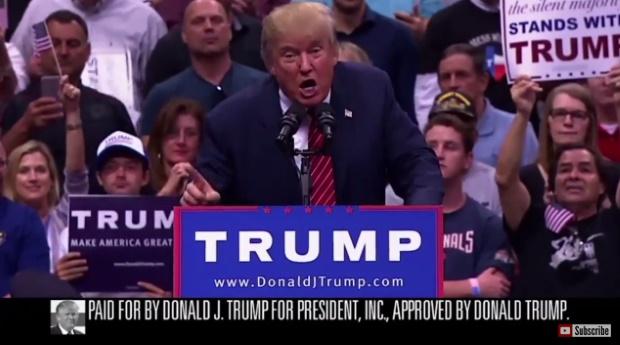 Donald Trump na TV