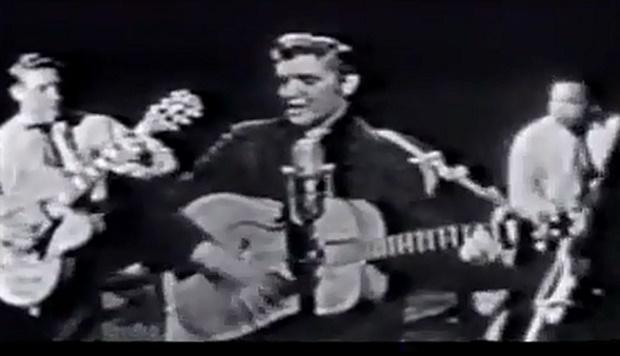A primeira vez de Elvis Presley na televisão