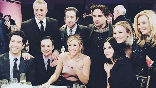 Elencos de Friends e Big Bang Theory