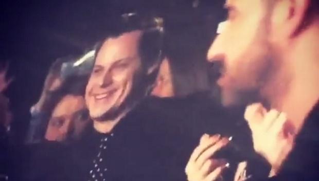 Jack White em show da Madonna