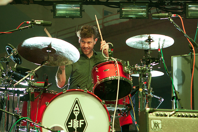 Jeremy Gara, baterista do Arcade Fire