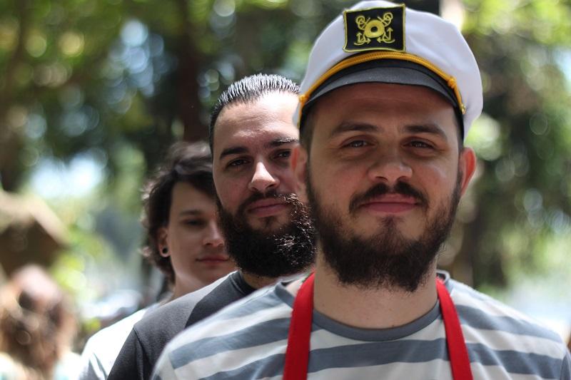Banda Lítera faz show no aniversário de São Paulo