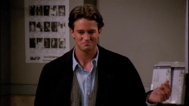 Matthew Perry como Chandler em Friends