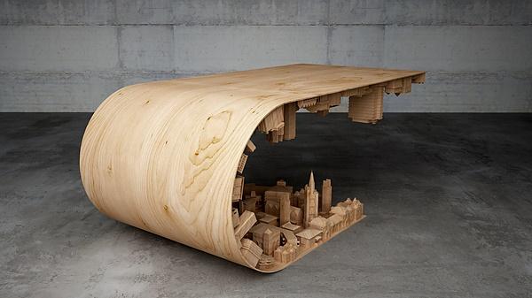 Conheça a mesa de centro inspirada em Inception