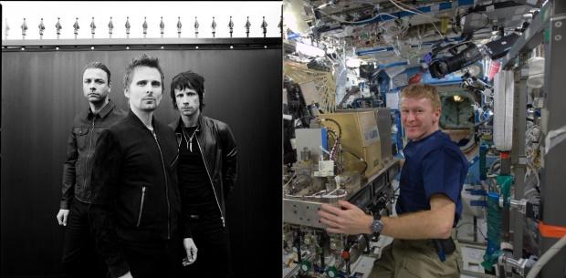 """""""Muse soa ainda melhor em órbita,"""" diz astronauta"""