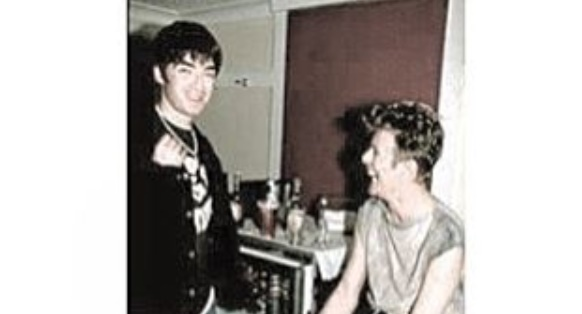 Noel Gallagher e David Bowie