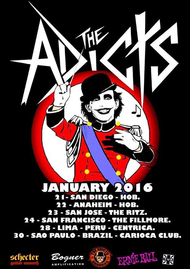 The Adicts vem ao Brasil ainda este mês