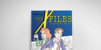 Arquivo X - Livro de colorir