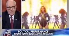 Rudolph Giuliani critica performance de Beyoncé no Super Bowl