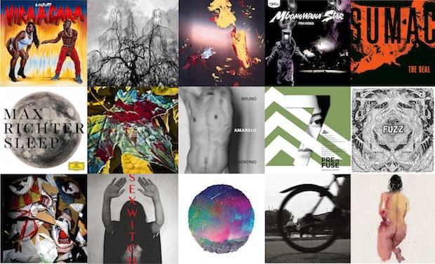 Faixa título: discos que você não ouviu em 2015