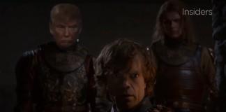 Game of Thrones: montagem inclui Donald Trump na série - assista