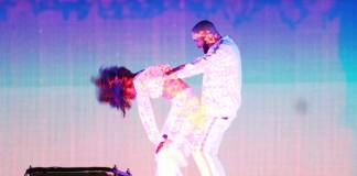 Drake e Rihanna no BRIT Awards