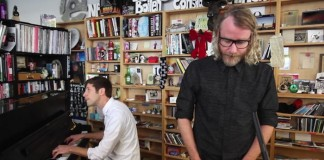 El Vy (The National) toca no Tiny Desk da NPR