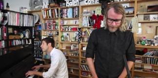 El Vy (The National) toca no Tiny Desk da NPR