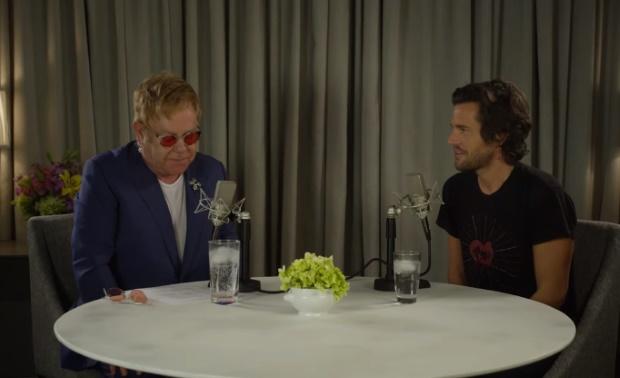 Elton John trabalha em novo disco do The Killers