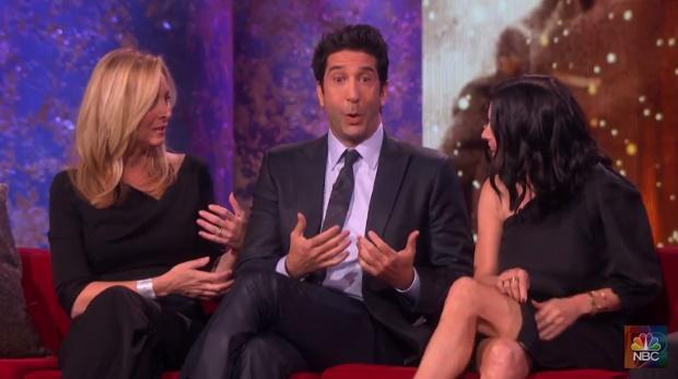 Elenco de Friends se reúne em especial de TV