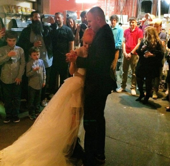 Casamento de Hayley Williams e Chad Gilbert