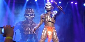 Iron Maiden faz primeiro show da turnê que irá passar pelo Brasil - vídeos