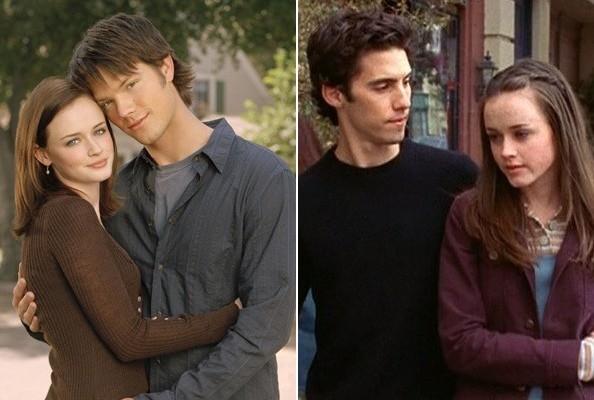 Jess, Dean e Rory em Gilmore Girls