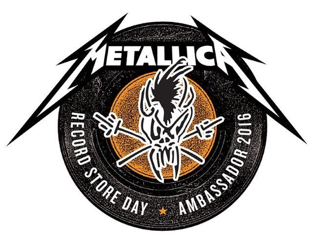 Metallica é embaixador do Record Store Day 2016