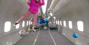 OK Go e seu clipe em gravidade zero
