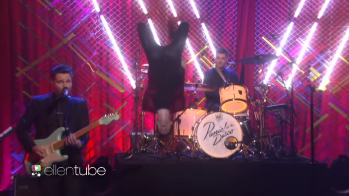 Panic! At The Disco no programa de Ellen
