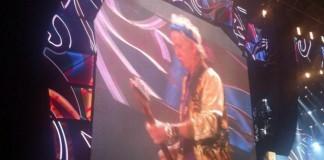 Keith Richards, do Rolling Stones, em São Paulo