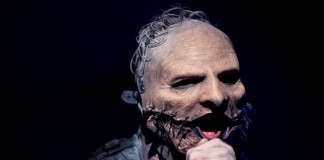 Corey Taylor, do Slipknot, no Rock In Rio (Foto por Lucas Dumphreys para o TMDQA!)
