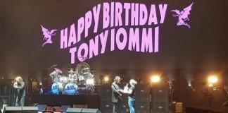 Black Sabbath canta parabéns para Tony Iommi no seu aniversário
