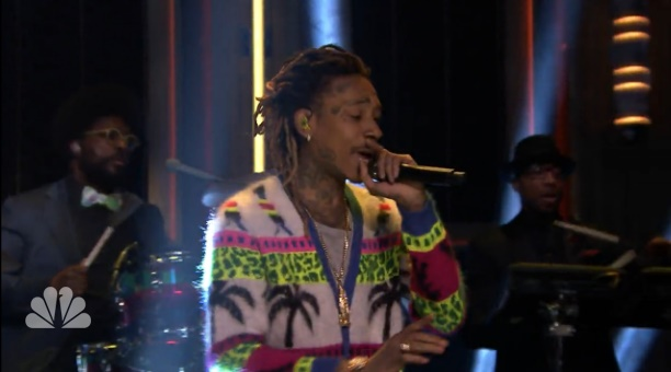 Wiz Khalifa no Jimmy Fallon