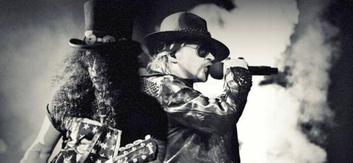 Axl Rose e Slash