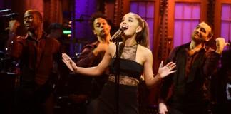 Ariana Grande no Saturday Night Live