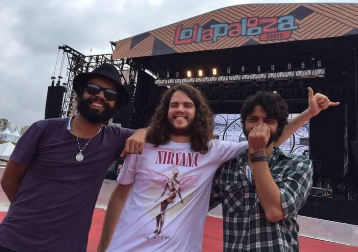 The Baggios no Lollapalooza Brasil 2016