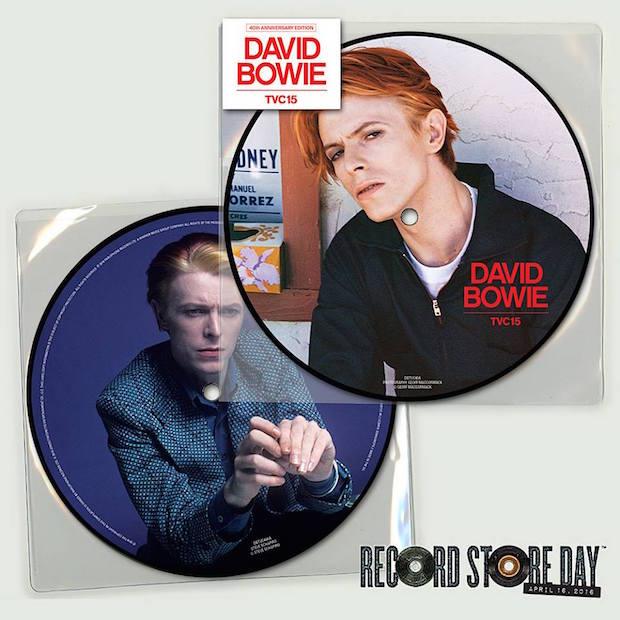 Disco de David Bowie relançado em vinil