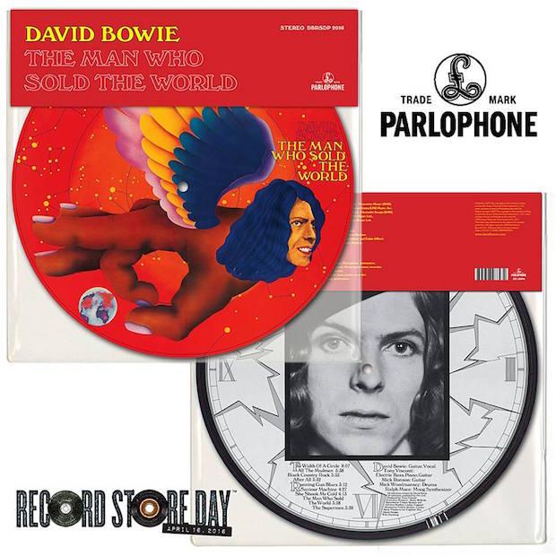 Trabalhos de David Bowie ganharão reedições no Record Store Day