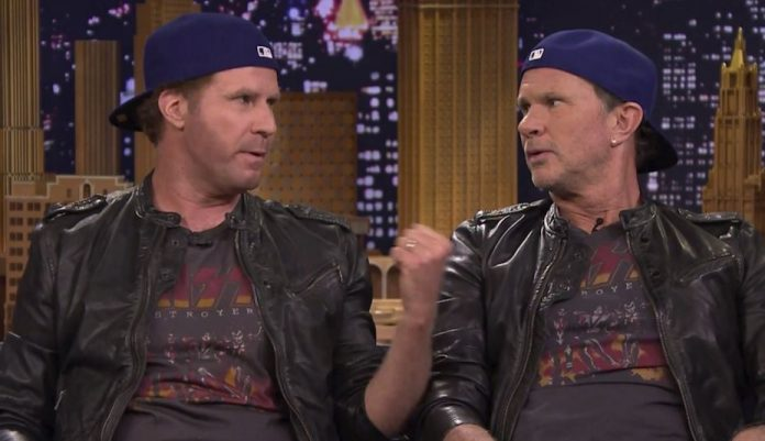 Chad Smith e Will Ferrell Novamente
