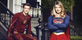 The Flash e Supergirl