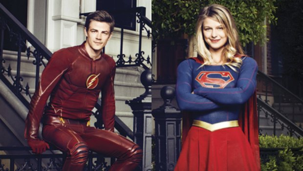 Resultado de imagem para Flash e Supergirl